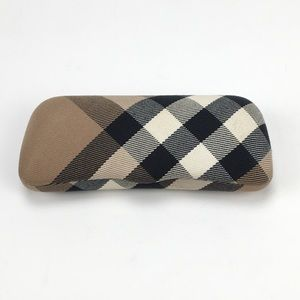 Burberry sunglass glasses case patterned